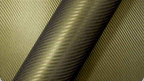 podglad na folie Arlon CWC-504CF Carbon Fiber Army Gold - Zloty Karbon
